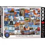 Puzzle  Eurographics-6000-0750 Globetrotter USA