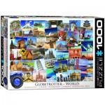 Puzzle  Eurographics-6000-0751 World Globetrotter