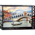 Puzzle  Eurographics-6000-0766 Venice - Rialto Bridge