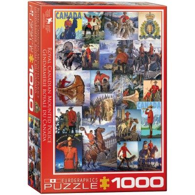 Puzzle Eurographics-6000-0777 Royal Canadian Mounted Police