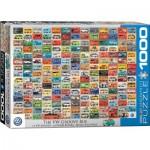 Puzzle  Eurographics-6000-0783 Volkswagon Groovy Bus