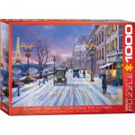 Puzzle  Eurographics-6000-0785 Dominic Davison: Christmas Eve in Paris