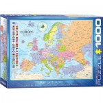 Puzzle  Eurographics-6000-0789 Map of Europe