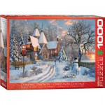 Puzzle  Eurographics-6000-0790 Dominic Davison: Christmas Cottage