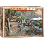 Puzzle  Eurographics-6000-0794 Kevin Daniel - Abandoned Farm