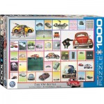 Puzzle  Eurographics-6000-0800 VW Beetle - We've done things
