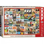 Puzzle  Eurographics-6000-0804 Collage - Shell Advertising Collection