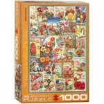 Puzzle  Eurographics-6000-0806 Flowers Seed Catalogue