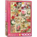 Puzzle  Eurographics-6000-0810 Roses Seed Catalogue