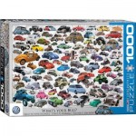 Puzzle  Eurographics-6000-0815 VW Beetle - What's your Bug?