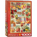 Puzzle  Eurographics-6000-0818 Fruits Seed Catalogue