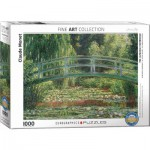 Puzzle  Eurographics-6000-0827 Claude Monet - The Japanese Footbridge