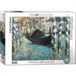 Puzzle  Eurographics-6000-0828 Edouard Manet - Le Grand Canal, Venice