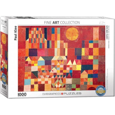 Puzzle Eurographics-6000-0836 Paul Klee - Castle and Sun