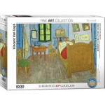 Puzzle  Eurographics-6000-0838 Vincent Van Gogh - The bedroom of van Gogh