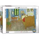 Puzzle  Eurographics-6000-0838 Vincent Van Gogh - The bedroom of van Gogh