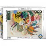 Puzzle  Eurographics-6000-0839 Wassily Kandinsky - Dominant Curve