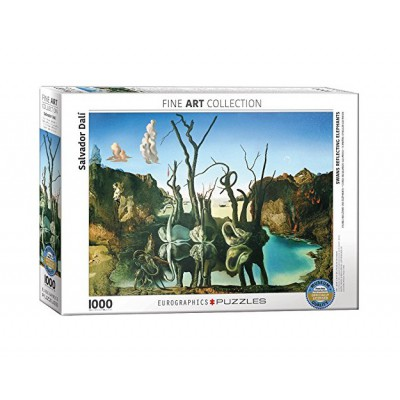 Puzzle Eurographics-6000-0846 Salvador Dalí - Swans Reflecting Elephants