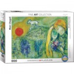 Puzzle  Eurographics-6000-0848 Marc Chagall - The Lovers of Vence