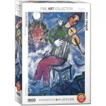 Puzzle  Eurographics-6000-0852 Marc Chagall - The Blue Violinist