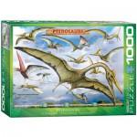 Puzzle  Eurographics-6000-0860 Dinosaurs - Pterosaurs