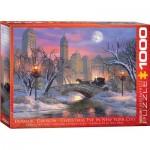 Puzzle  Eurographics-6000-0915 Dominic Davison: Christmas Eve in New York City