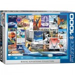 Puzzle  Eurographics-6000-0932 Boeing Advertising Collection