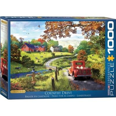 Puzzle Eurographics-6000-0968 Dominic Davison - Country Drive