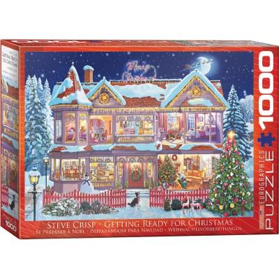 Puzzle Eurographics-6000-0973 Steve Crisp - Getting Ready Christmas