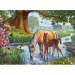 Puzzle  Eurographics-6000-0976 Steve Crisp - The Fell Ponies