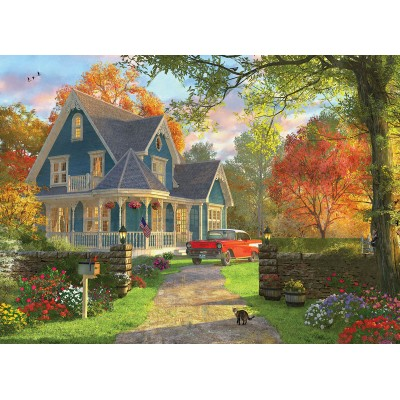 Puzzle Eurographics-6000-0978 Dominic Davison - The Blue Country House