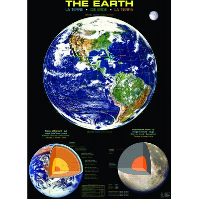 Puzzle Eurographics-6000-1003 The Earth