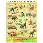 Eurographics-6000-1005 Jigsaw Puzzle - 1000 Pieces - Dinosaurs