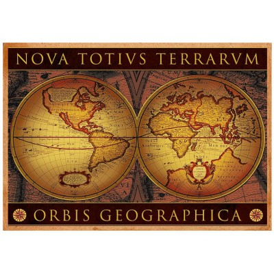Eurographics-6000-1084 Jigsaw Puzzle - 1000 Pieces - World Map : Orbis