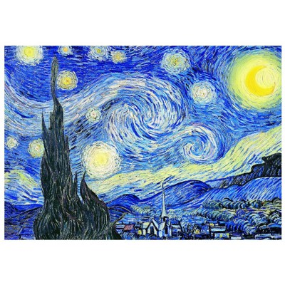 Eurographics-6000-1204 Jigsaw Puzzle - 1000 Pieces - Van Gogh : Starry night
