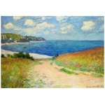 Puzzle  Eurographics-6000-1499 Claude Monet - Path Through the Wheat Fields