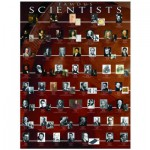 Eurographics-6000-2000 Jigsaw Puzzle - 1000 Pieces - Famous Scientists