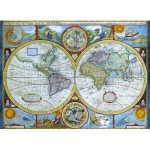 Puzzle  Eurographics-6000-2006 Map of the ancient world