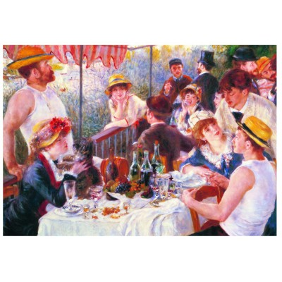 Puzzle Eurographics-6000-2031 Pierre-Auguste Renoir: Breakfast of the Rowers