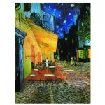Eurographics-6000-2143 Jigsaw Puzzle - 1000 Pieces - Van Gogh : Cafe Terrace at Night
