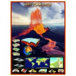 Puzzle  Eurographics-6000-2998 The volcanoes