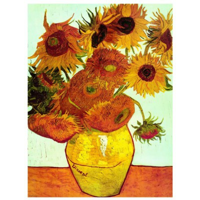 Puzzle Eurographics-6000-3688 Van Gogh - Sunflowers