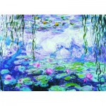 Puzzle  Eurographics-6000-4366 Claude Monet: the water lilies