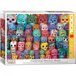 Puzzle  Eurographics-6000-5316 Traditional Mexican Skulls