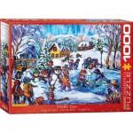 Puzzle  Eurographics-6000-5333 Katerina Mertikas - Snow Day