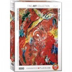 Puzzle  Eurographics-6000-5418 Marc Chagall - The Triumph of Music