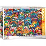 Puzzle  Eurographics-6000-5421 Mexican Ceramic Plates