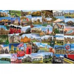 Puzzle  Eurographics-6000-5464 Globetrotter United Kingdom