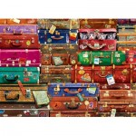 Puzzle  Eurographics-6000-5468 Travel Suitcases