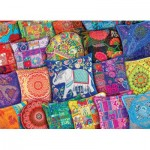 Puzzle  Eurographics-6000-5470 Indian Pillows
